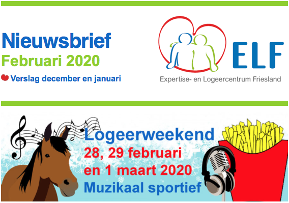 Paardrijden en ELF-lied maken in februari 2020